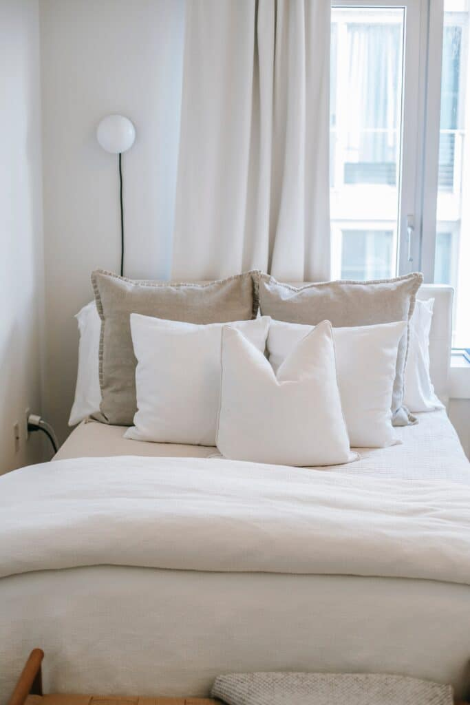 duvet cover with top sheet