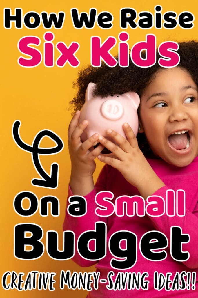 how to raise kids on small budget