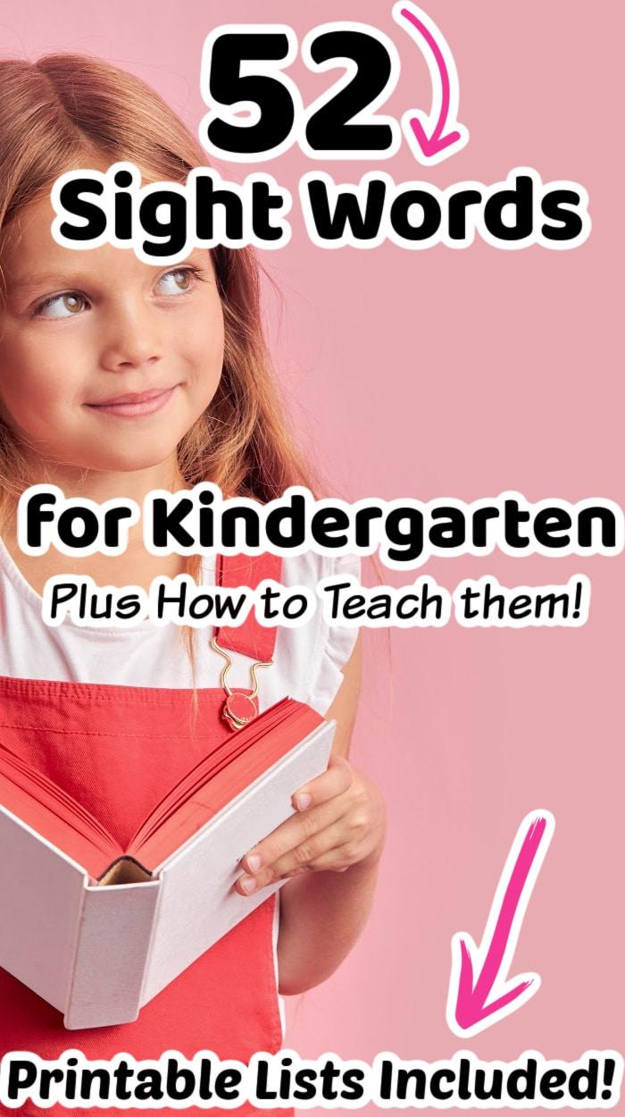 elementary sight words