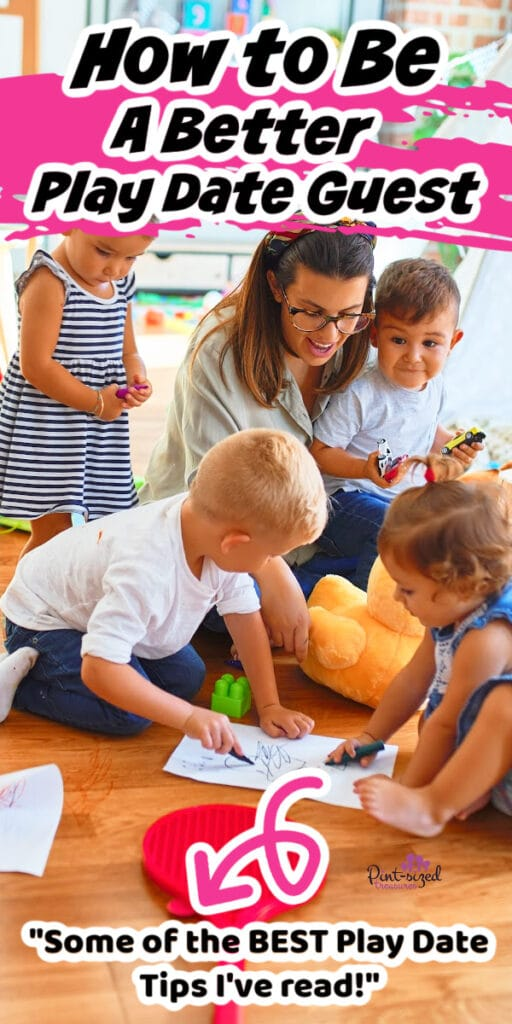 how to be a good playdate guest