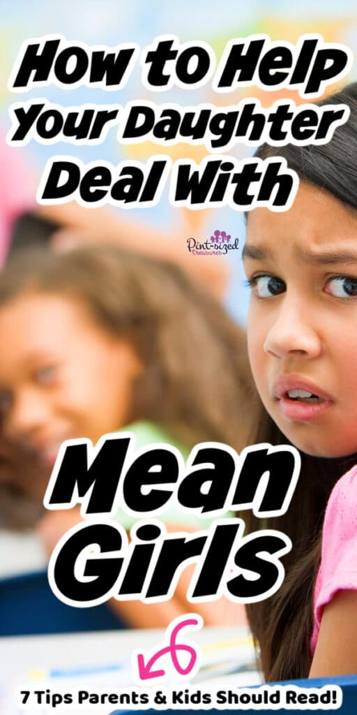 how to help daughter deal with mean girls