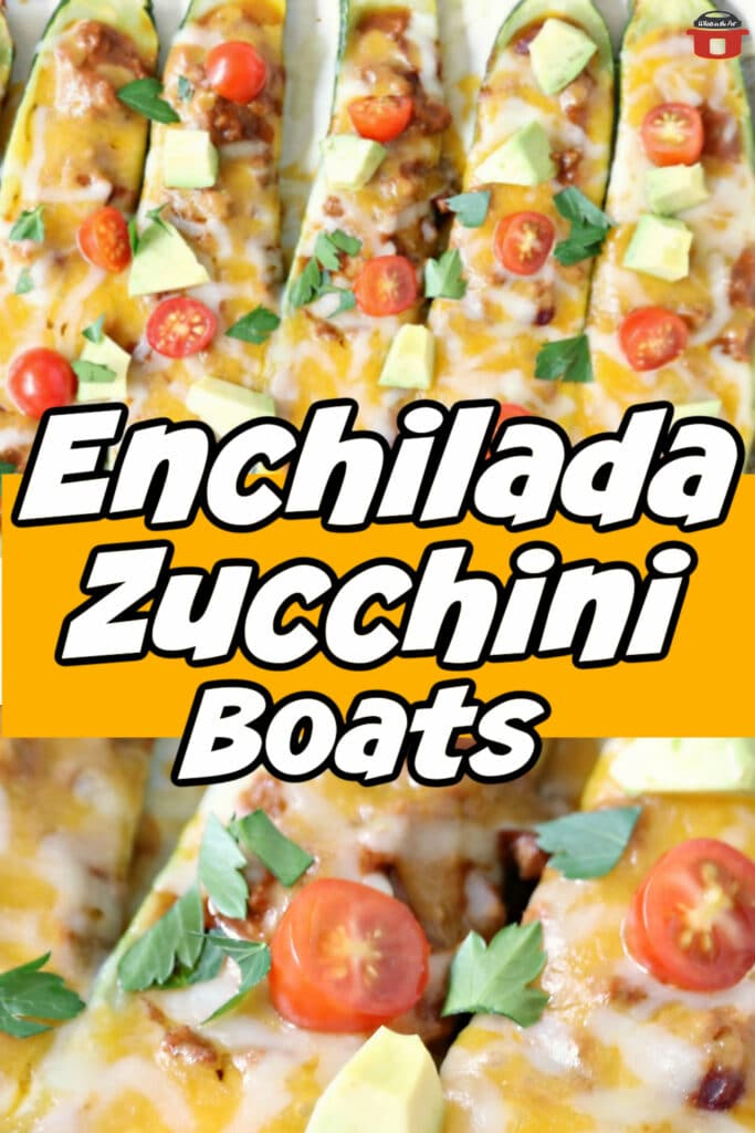 zucchini boats out of the oven