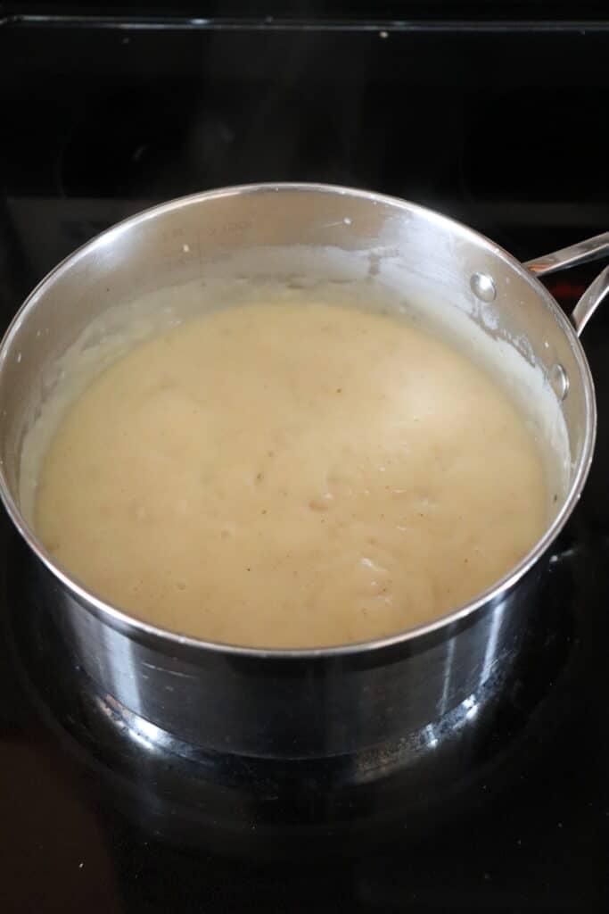 homemade creamy chicken soup for southwestern taco casserole