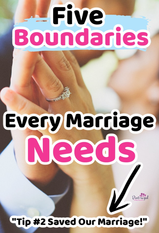 marriage tips and marriage boundaries to protect marriage