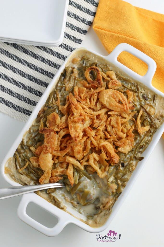 classic green bean casserole recipe
