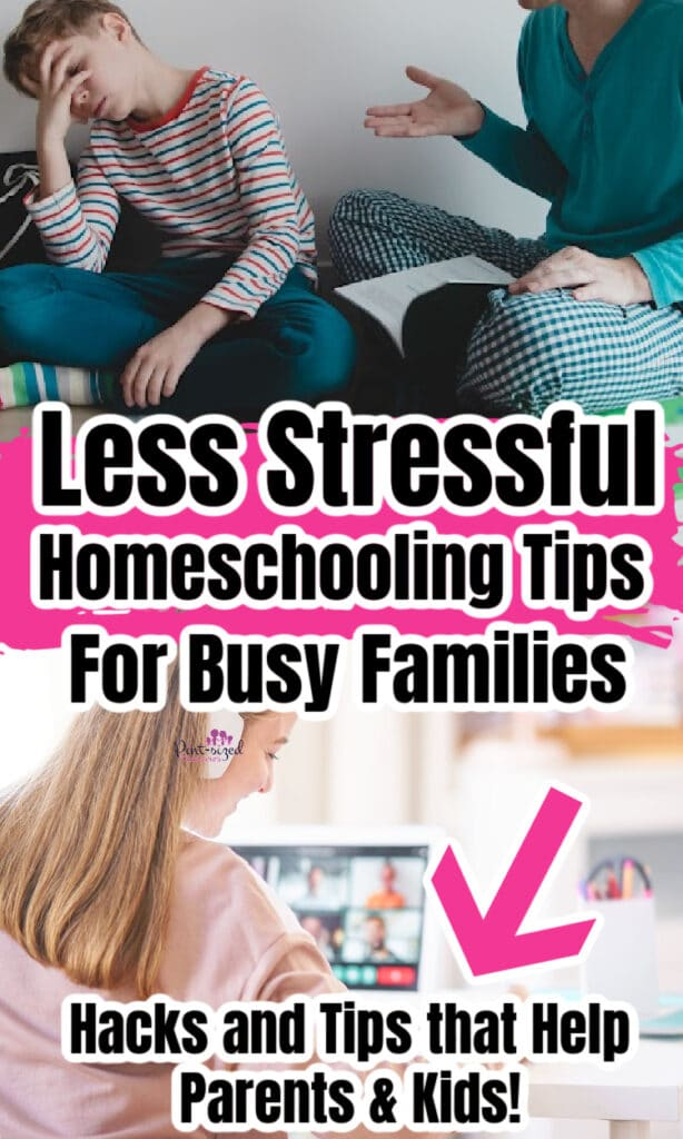easy homeschooling tips for parents and kids