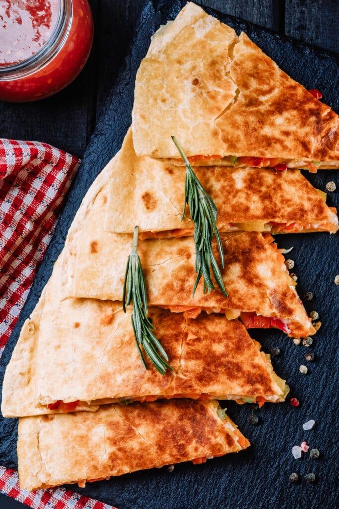 pizza quesadilla recipe