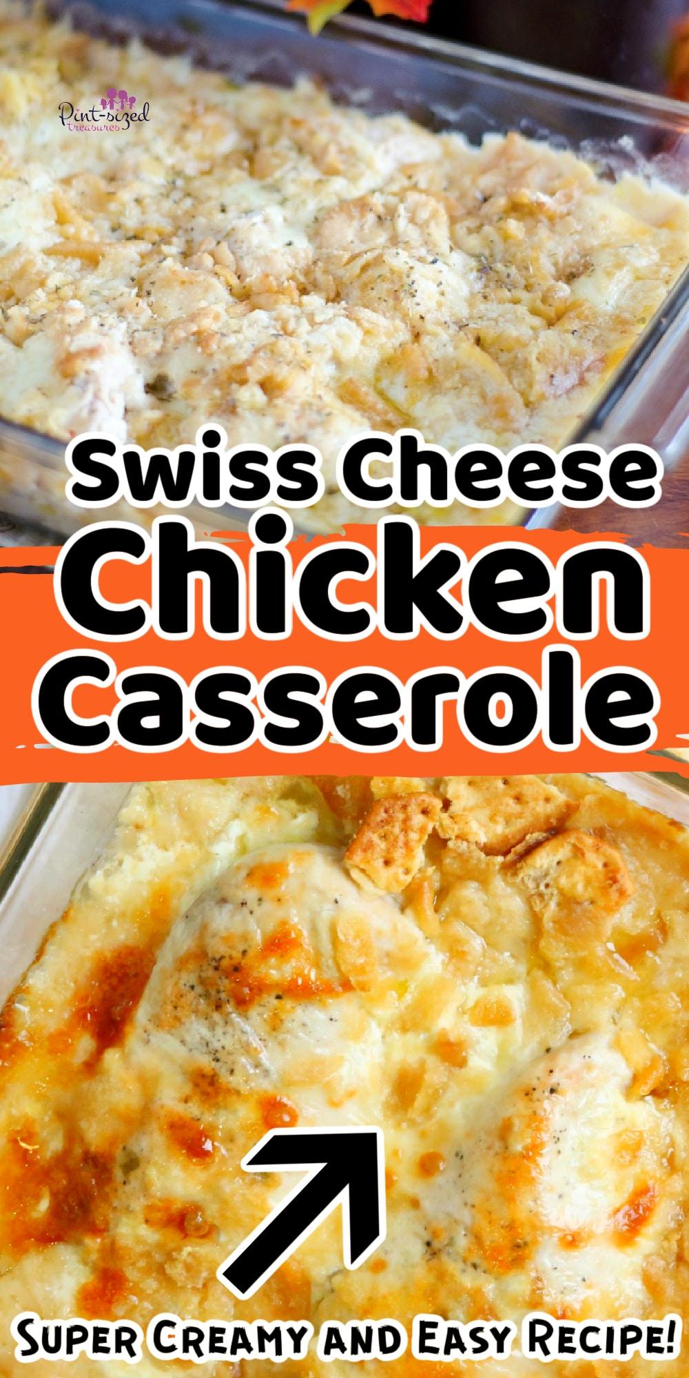 swiss cheese chicken casserole