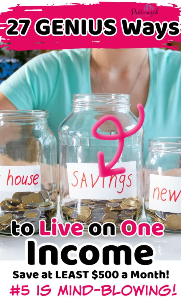 budgeting for living on one income